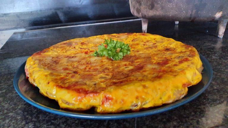 Tortilla uit de Dutch Oven