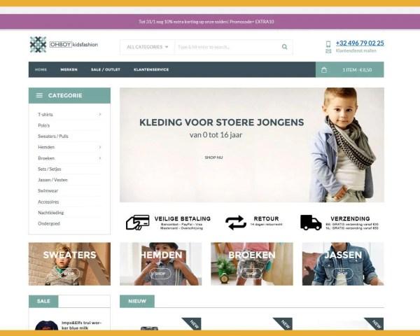 Kinderkleding Ohboy Kidsfashion – webwinkel