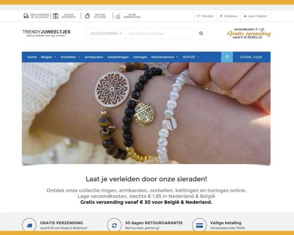 Trendy Juweeltjes – webwinkel
