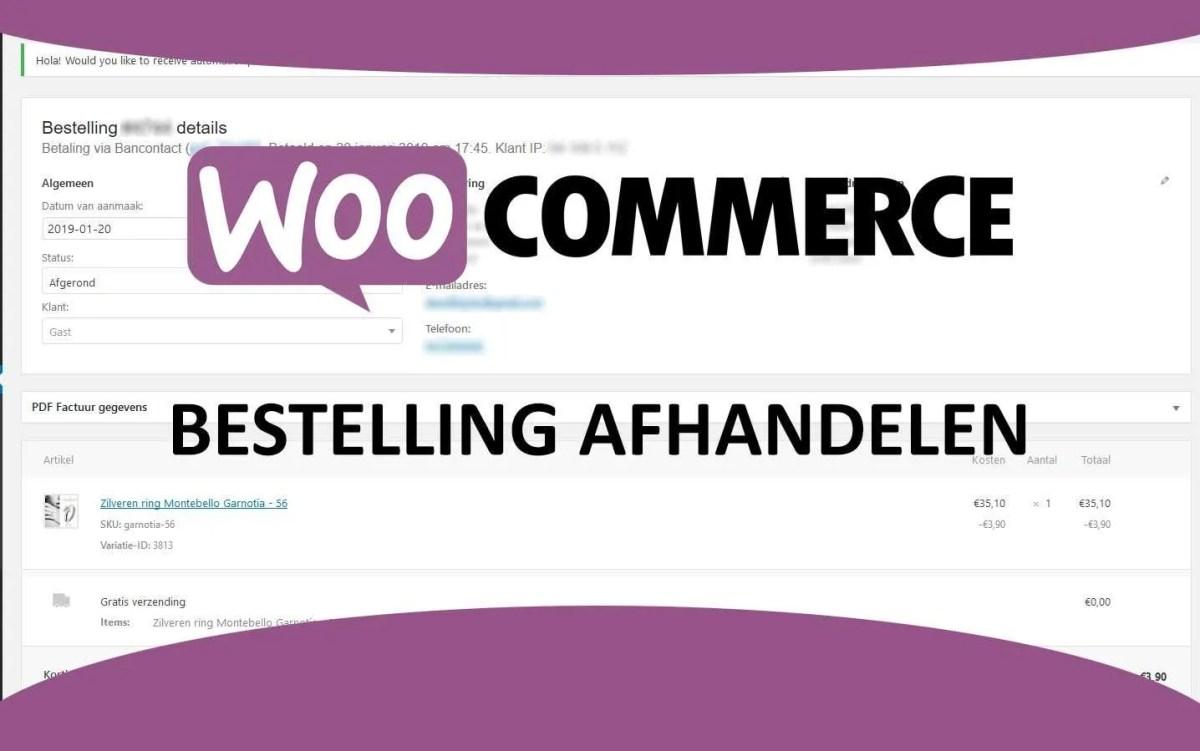 Order status in Woocommerce - Buitengewoon Communicatie Scherpenheuvel-Zichem
