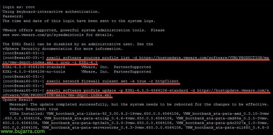 VMware-ESXi60-ESXi65-11-bujarra