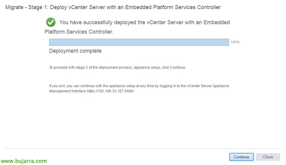 VMware-vCenter-Server-6-migrar-vCSA-65-16-bujarra