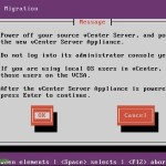 Migrando de vCenter Server a vCenter Server Appliance
