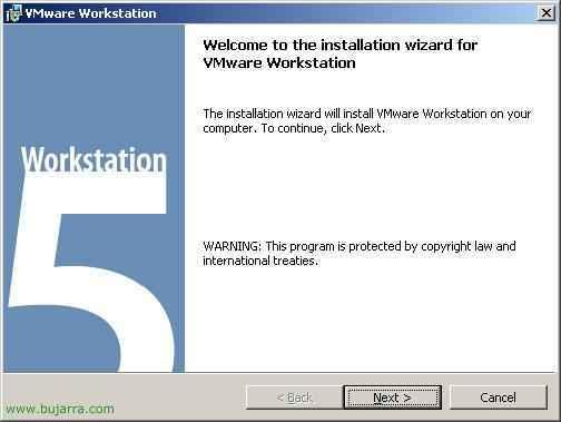 Instalación y uso de VMware Workstation