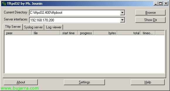 Instalación de red de VMware ESXi 5 usando PXELINUX y archivos de configuración
