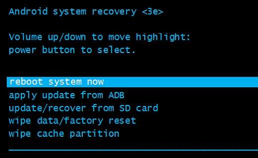 Menggunakan Hard Reset Android
