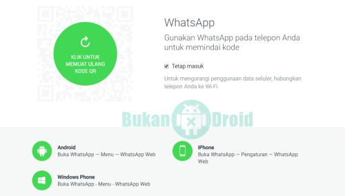 Cara Login WhatsApp Lewat Web Tanpa Melewati Scan Barcode