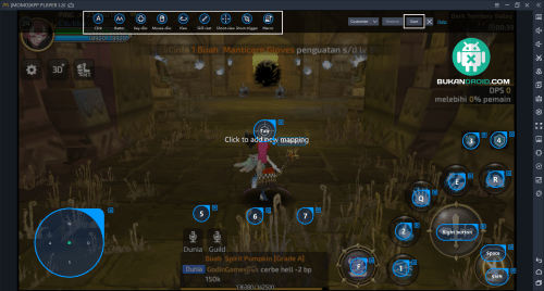 Cara Bermain Game Dragon Nest M ( Mobile) di PC
