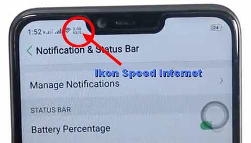 Cara mengetahui kecepatan internet di Oppo