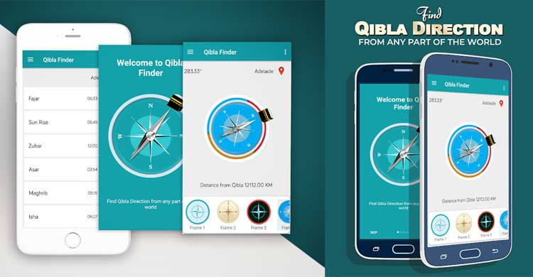 Aplikasi Penunjuk Arah Kiblat Paling Akurat