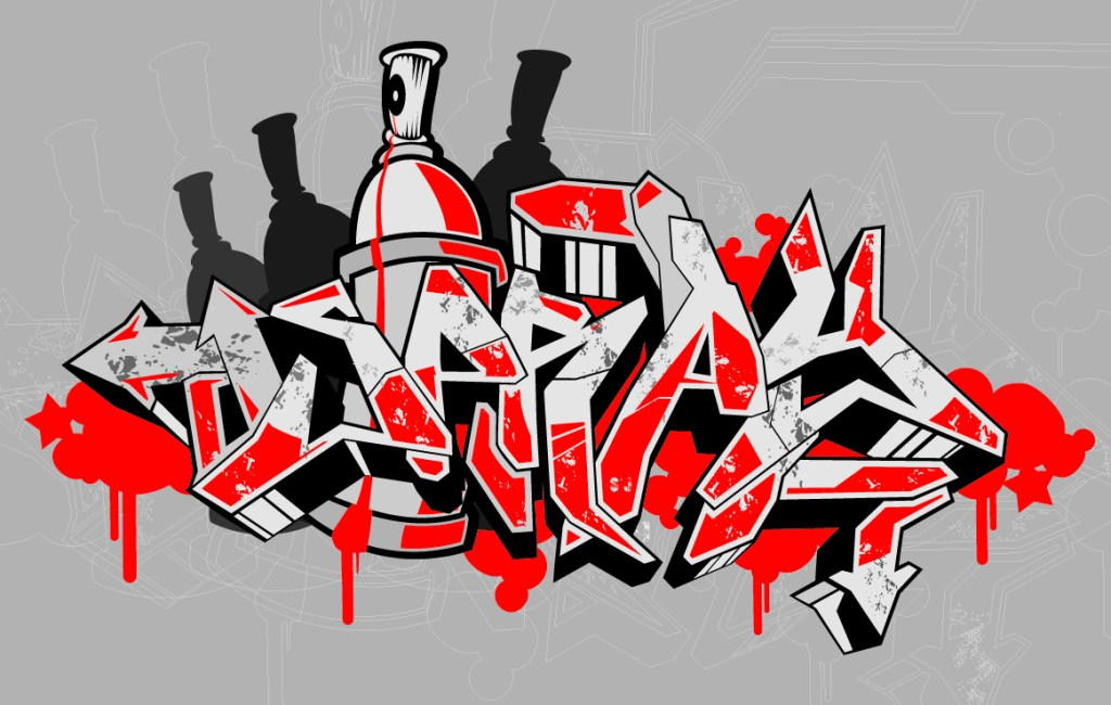 Aplikasi Grafiti Keren di Android
