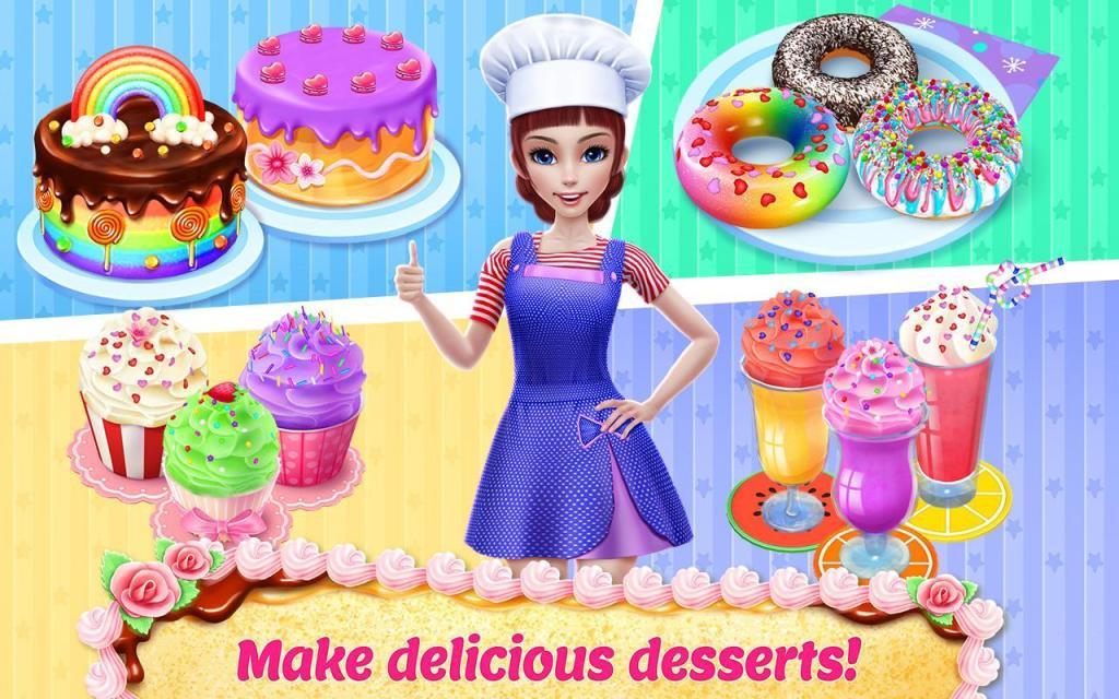 Game Toko Roti dan Kue di Android