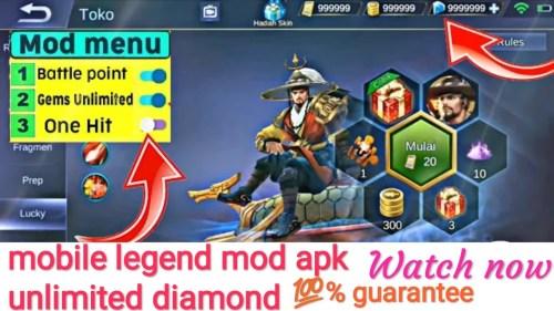 Mod Mobile Legends v1.4.14