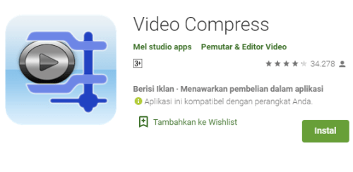 Aplikasi Video Compress