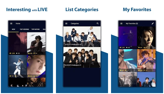 BTS Live Wallpapers (High Resolution)