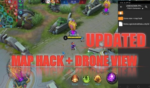Tanpa Banned! Tutorial Cheat Map Hack Mobile Legends 2019