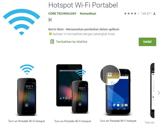 Hotspot Wi-Fi Portabel