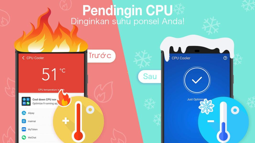 Aplikasi Pendingin HP Android