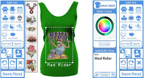 Pembuat Desain T-shirt