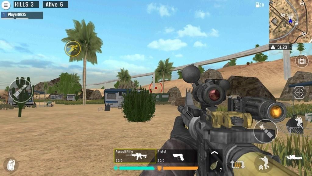 Blood Rivals: Battleground Shooting Games