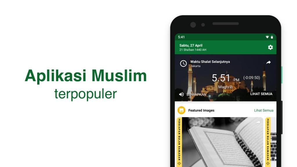 Aplikasi Jadwal Sholat di Android