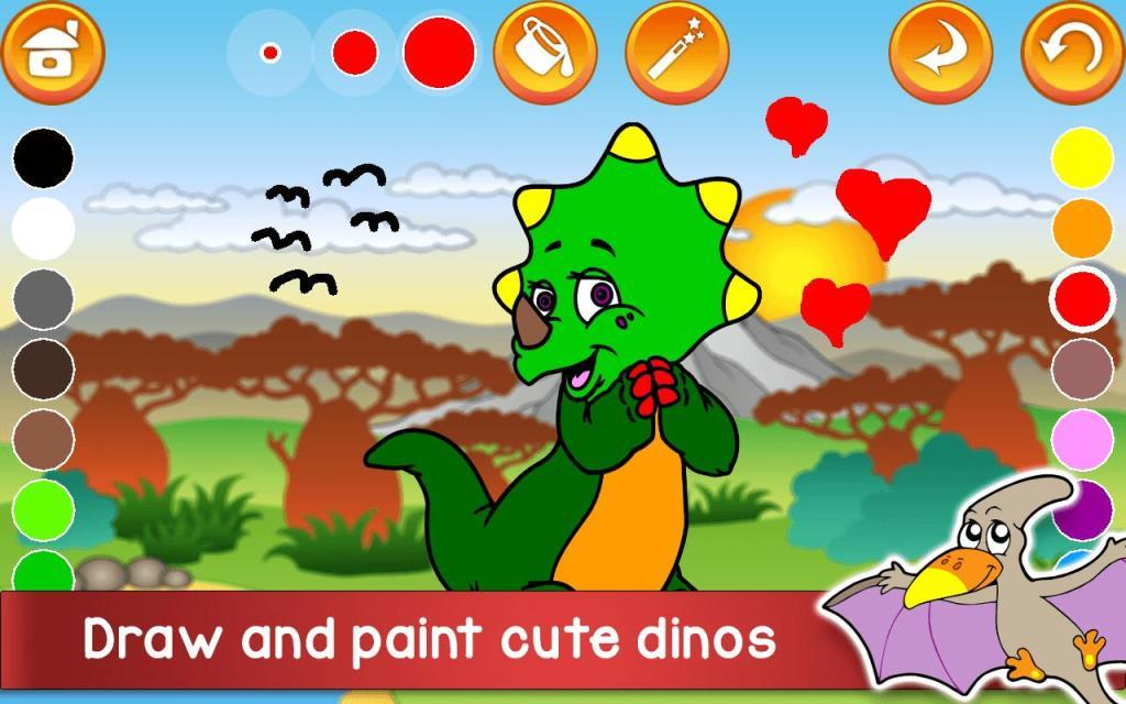 Kids Dino Adventure Game