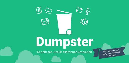 Melalui Aplikasi Dumpster
