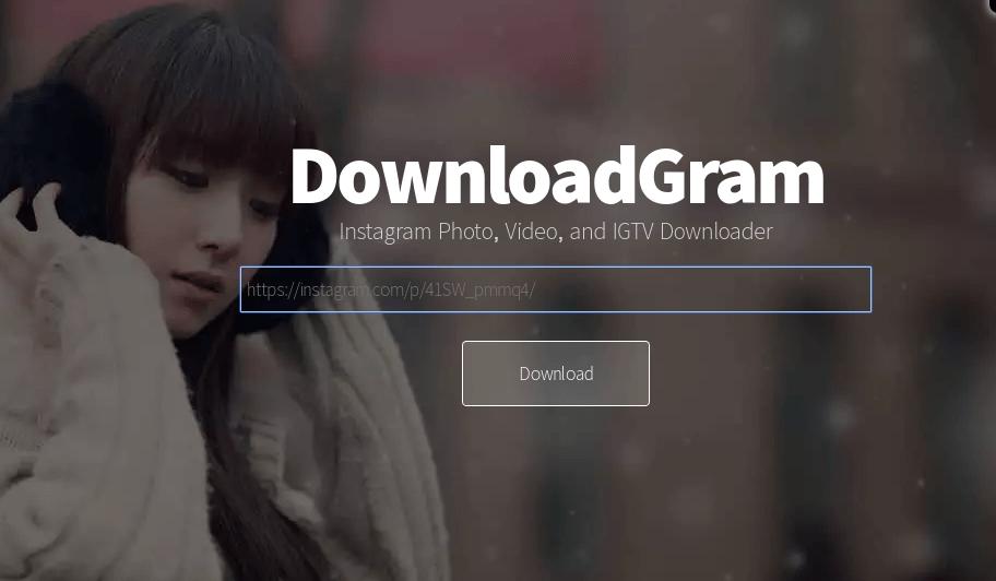 Situs DownloadGram.com
