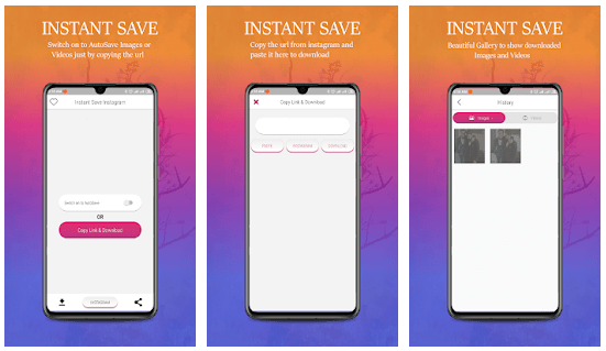 Instant Save