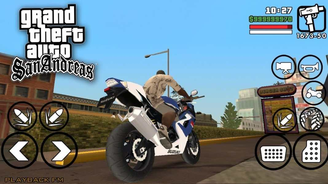 Download MOD GTA SA Android