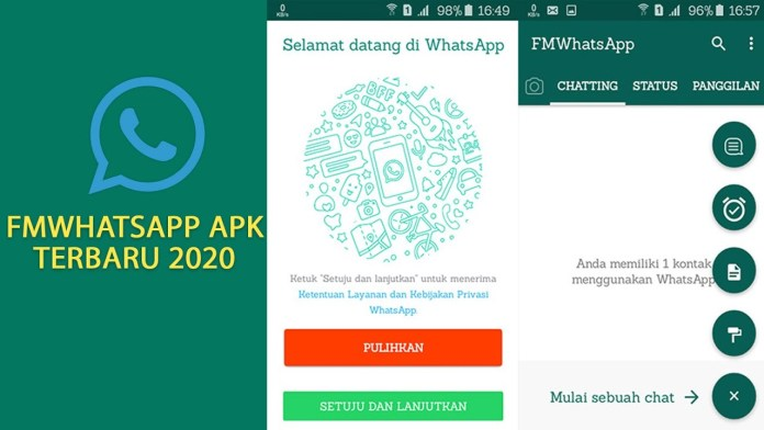 Cara Download FMWhatsApp APK