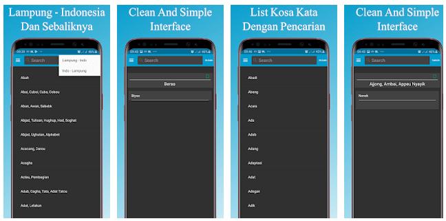 Kamus Bahasa Lampung Offline