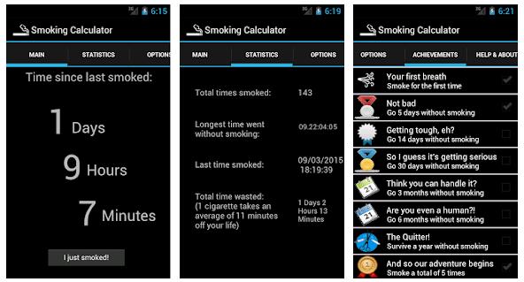 Smoking Calculator