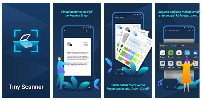 Scan Foto di HP Android dengan Aplikasi