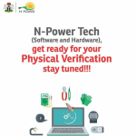 N-Power Tech Physical Verification Screening Dates and Venue (Hardware and Software)