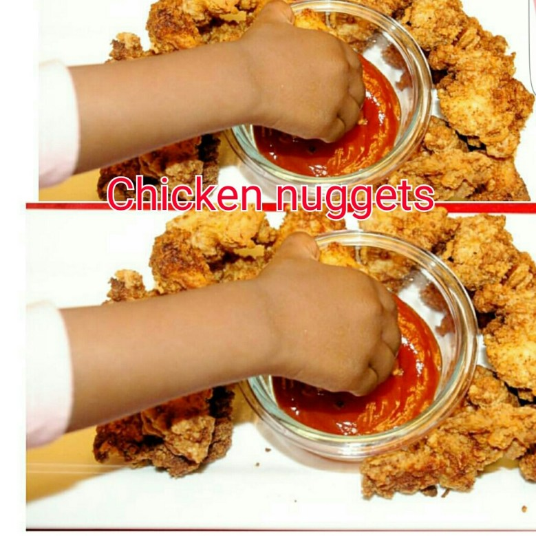 Homemade Delicious Chicken Nuggets graphic