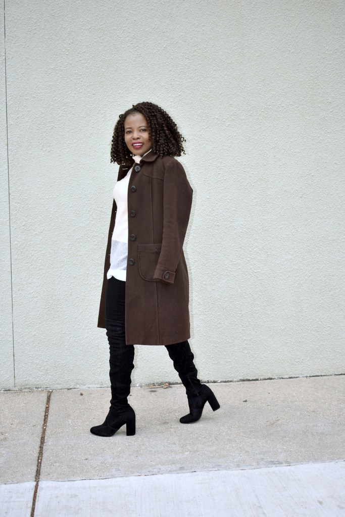 How to dress warm in winter and still be stylish. graphic
