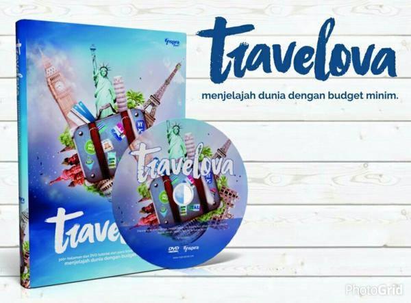 Buku TRAVELOVA, Menjelajah Dunia dengan Budget Minim