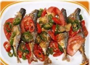Memasak Ikan Asin Peda Pedas, Cara Memasak Ikan Asin Peda Pedas Sedap