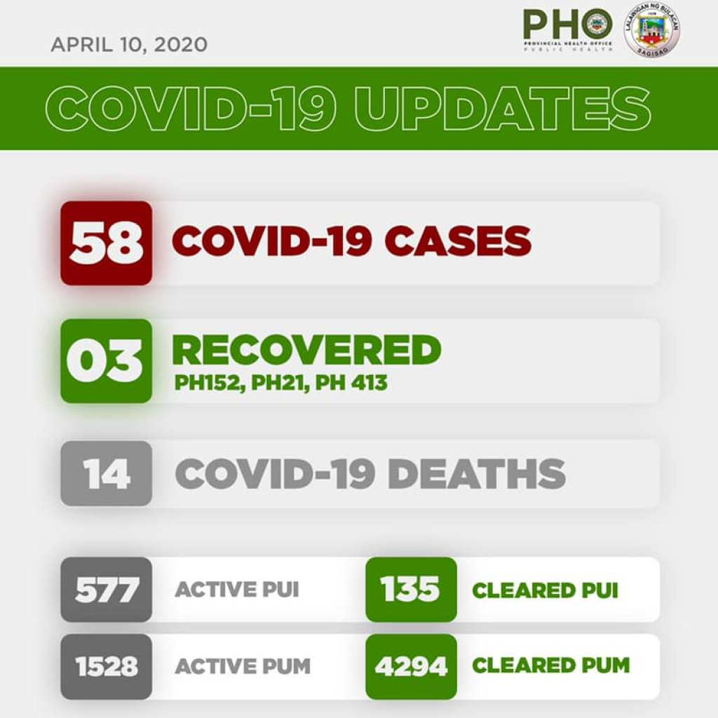 Bulacan COVID-19 Virus Journal Log Book (From First Case up to June 2020) 81