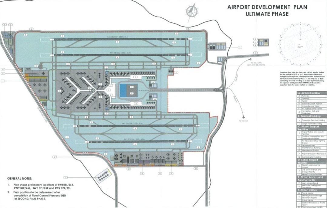 Bulacan airport development plan