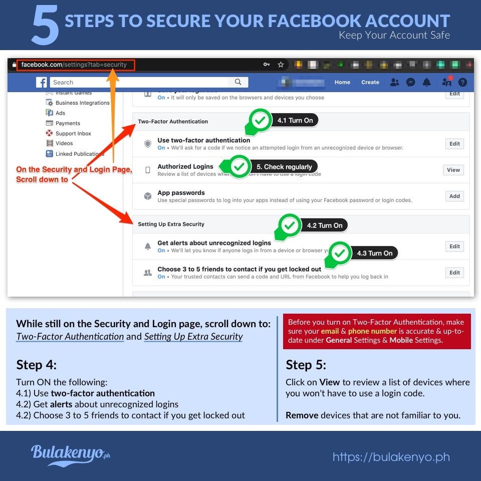 5 Steps To Secure Your Facebook Account 4