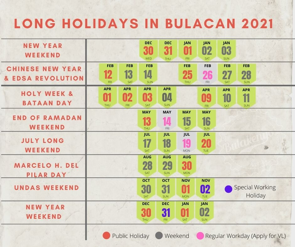 Simplified Holidays in Bulacan 2021 3