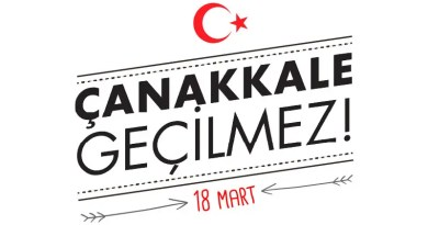18 Mart Çanakkale Zaferi Okul Panosu