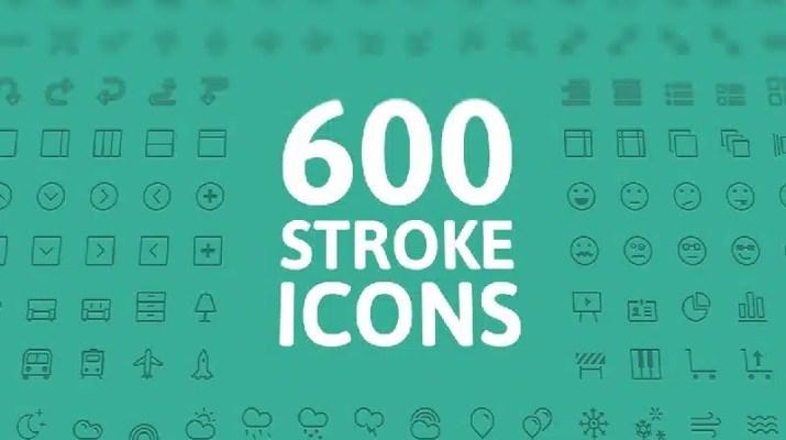 600 ikon indir