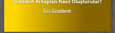 CSS Gradient CSS3
