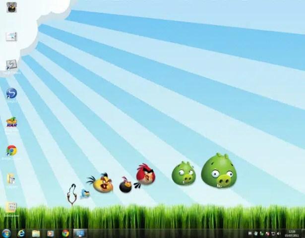 Angry Birds Tema