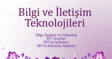 bilgi ve iletisim teknolojileri sunu