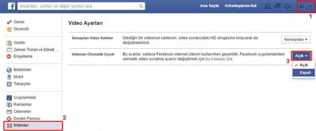 facebook-otomatik-video-kapat
