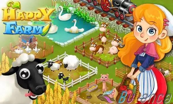 happy farm ciftlik oyunu